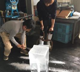 氷切り&かき氷
