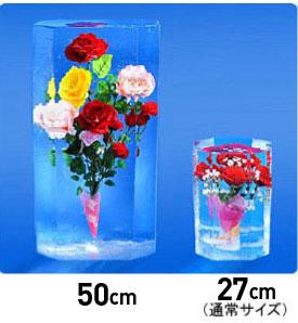 花ごおりの各サイズ